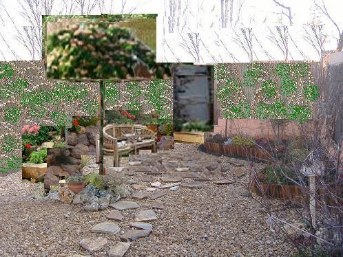 Jard n en construcci n fotos p gina 9 for Separador piedras jardin