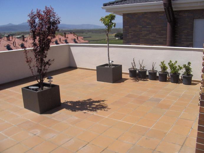 Empezando con la terraza for Toldos para terrazas en azoteas